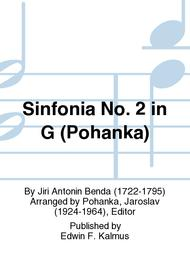 Sinfonia No. 2 in G (Pohanka)