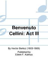 Benvenuto Cellini: Act III