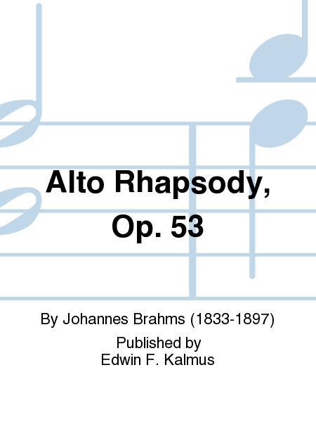 Alto Rhapsody, Op. 53
