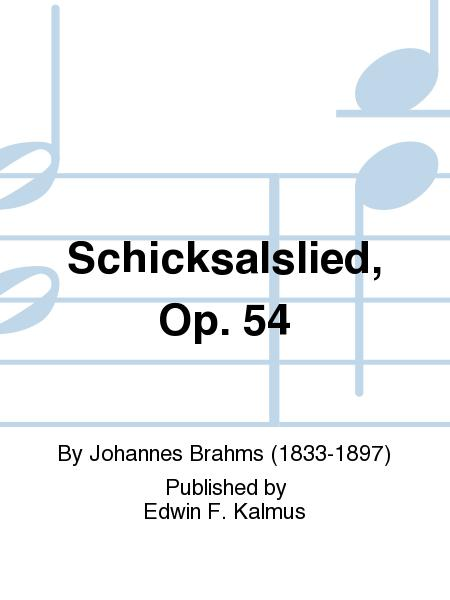 Schicksalslied, Op. 54