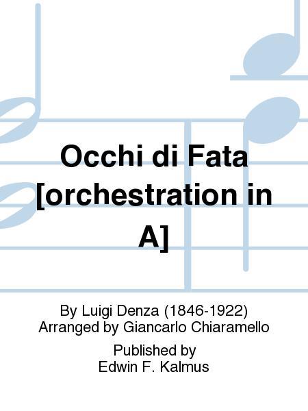 Occhi di Fata [orchestration in A]