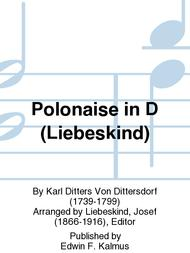 Polonaise in D (Liebeskind)