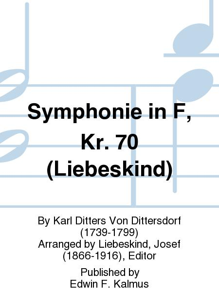 Symphonie in F, Kr. 70 (Liebeskind)
