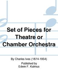 Set of Pieces for Theatre or Chamber Orchestra