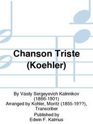 Chanson Triste (Koehler)