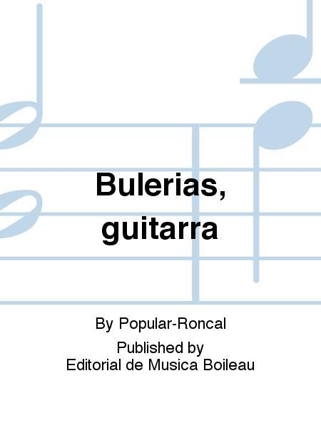 Bulerias, guitarra