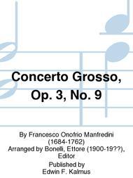 Concerto Grosso, Op. 3, No. 9