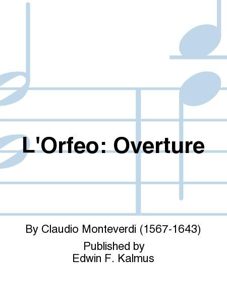 L'Orfeo: Overture