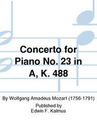Concerto for Piano No. 23 in A, K. 488