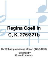 Regina Coeli in C, K. 276/321b