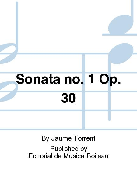 Sonata no. 1 Op. 30
