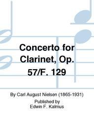 Concerto for Clarinet, Op. 57/F. 129