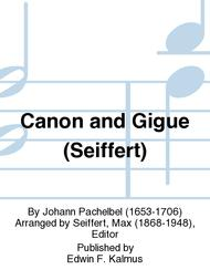 Canon and Gigue (Seiffert)
