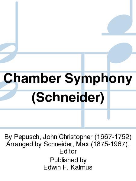 Chamber Symphony (Schneider)