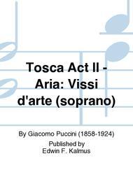 Tosca Act II - Aria: Vissi d'arte (soprano)