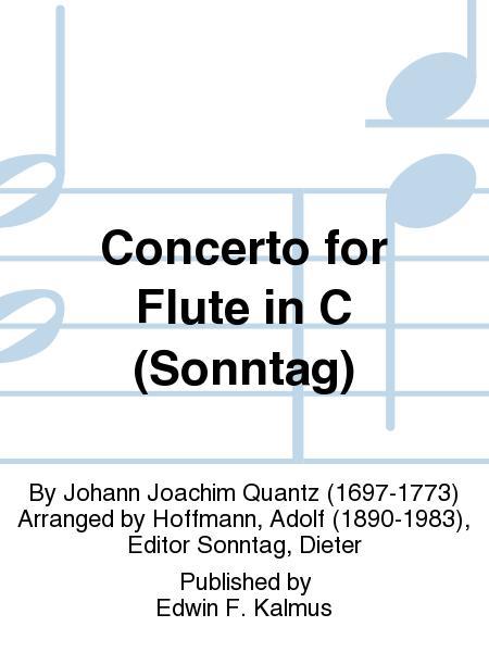 Concerto for Flute in C (Sonntag)