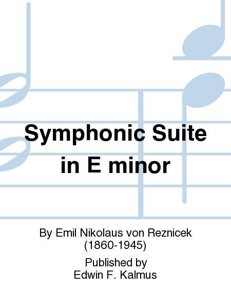 Symphonic Suite in E minor