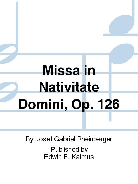 Missa in Nativitate Domini - Score