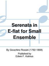 Serenata in E-flat for Small Ensemble
