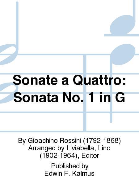 Sonate a Quattro: Sonata No. 1 in G