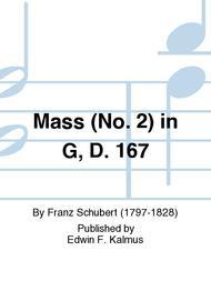Mass (No. 2) in G, D. 167