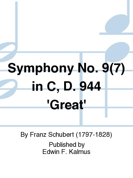 Symphony No. 9(7) in C, D. 944 'Great'