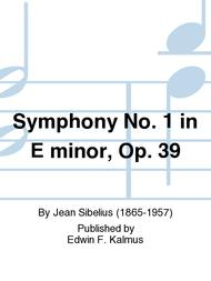 Symphony No. 1 in E minor, Op. 39