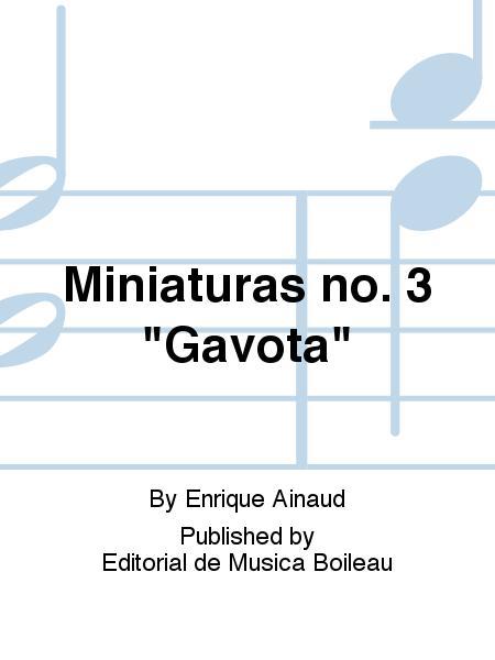 Miniaturas no. 3