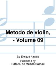 Metodo de violin, - Volume 09