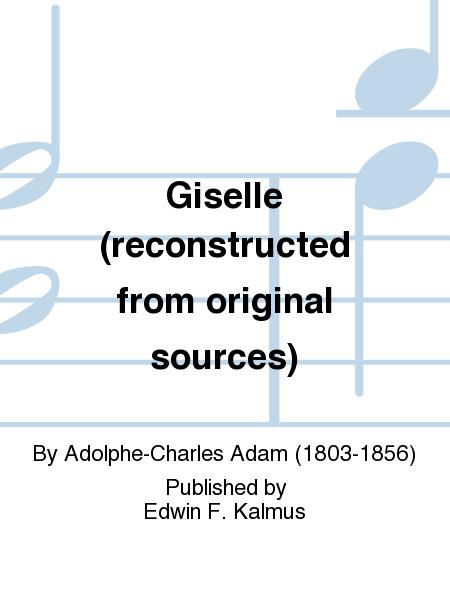 Giselle (reconstructed from original sources)