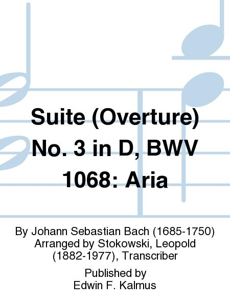 Suite (Overture) No. 3 in D, BWV 1068: Aria