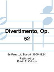 Divertimento, Op. 52