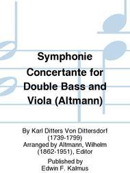 Symphonie Concertante for Double Bass and Viola (Altmann)