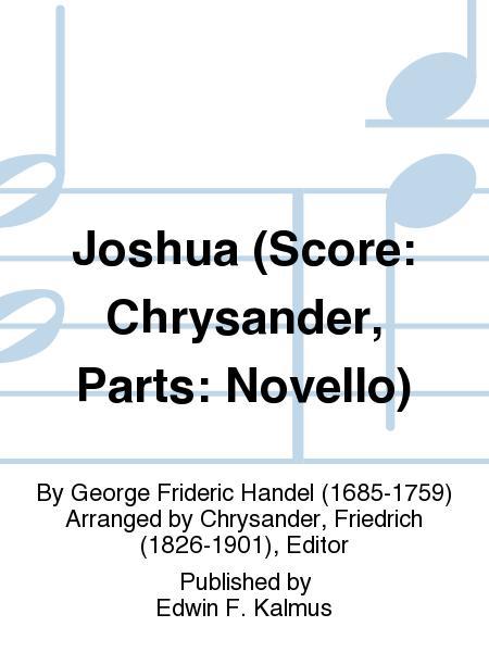 Joshua (Score: Chrysander, Parts: Novello)