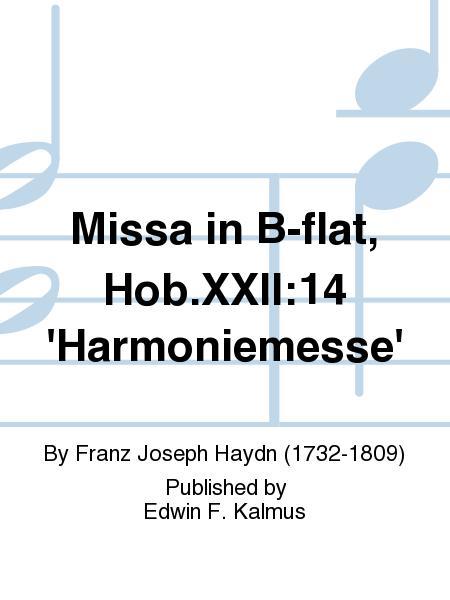 Missa in B-flat, Hob.XXII:14 'Harmoniemesse'