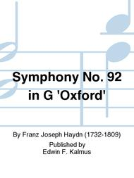 Symphony No. 92 in G 'Oxford'