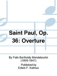 Saint Paul, Op. 36: Overture
