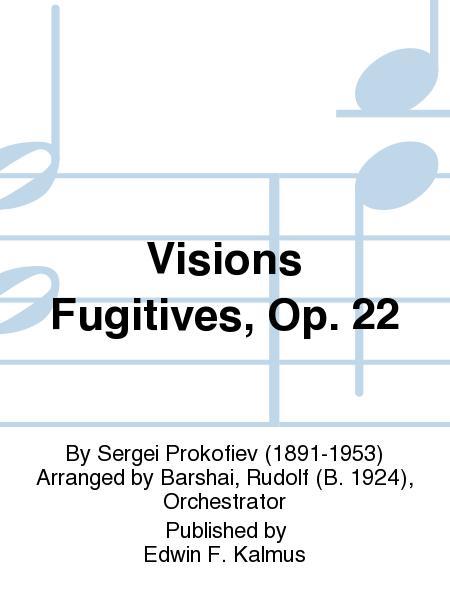 Visions Fugitives, Op. 22