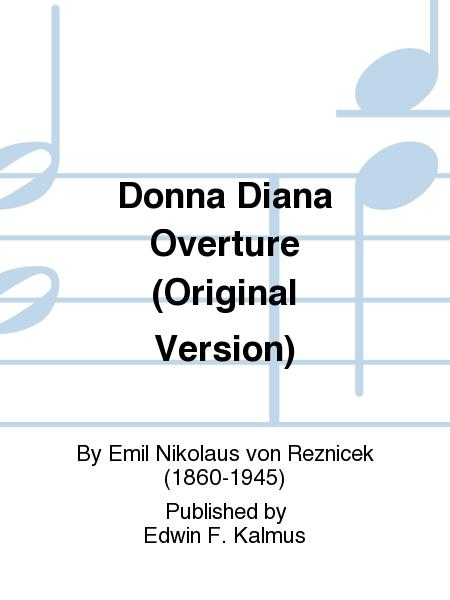 Donna Diana Overture (Original Version)
