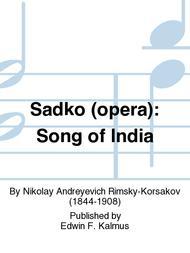 Sadko (opera): Song of India
