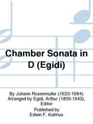 Chamber Sonata in D (Egidi)