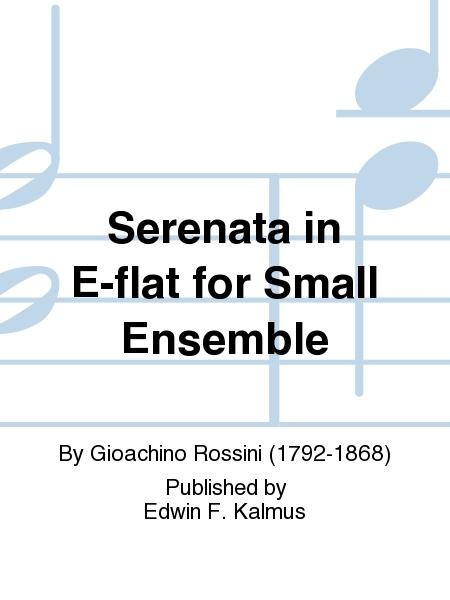 Serenata in E-flat for Small Ensemble