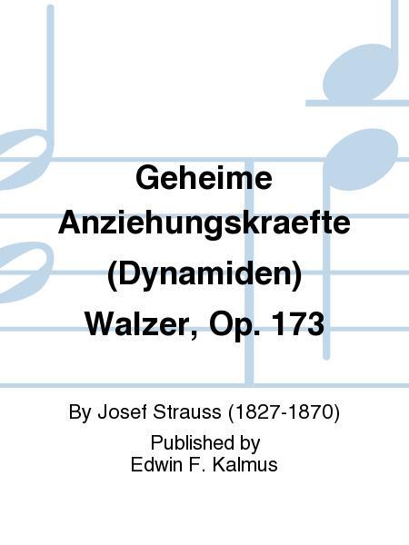 Geheime Anziehungskraefte (Dynamiden) Walzer, Op. 173