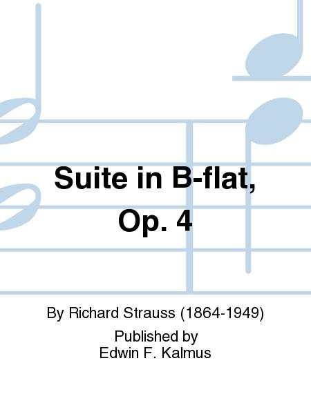 Suite in B-flat, Op. 4