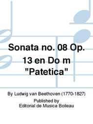 Sonata no. 08 Op. 13 en Do m
