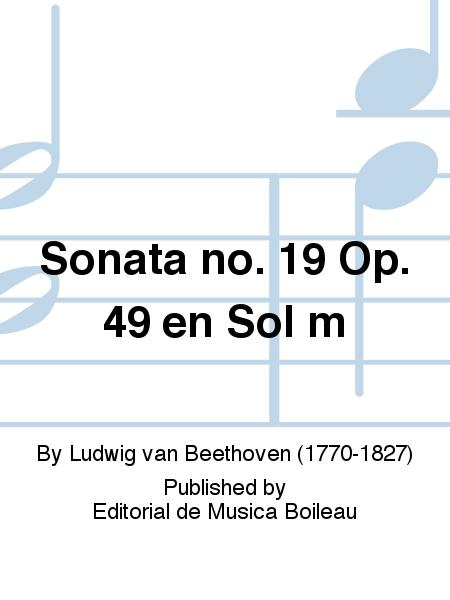 Sonata no. 19 Op. 49 en Sol m
