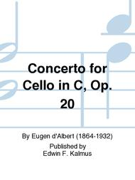Concerto for Cello in C, Op. 20