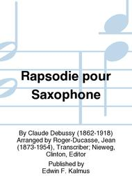 Rapsodie pour Saxophone
