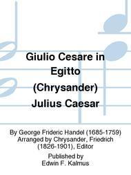 Giulio Cesare in Egitto (Chrysander) Julius Caesar