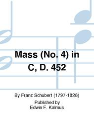 Mass (No. 4) in C, D. 452